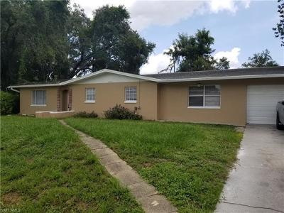 Fort Myers Single Family Home For Sale: 2307 Barcelona Ave