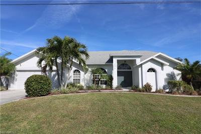 Cape Coral Single Family Home For Sale: 1423 SW 49th St