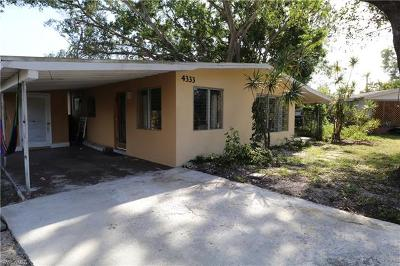 Fort Myers Single Family Home For Sale: 4333 Ellen Ave