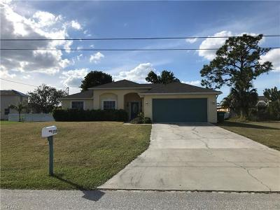 Cape Coral Single Family Home For Sale: 3730 SW 16th Pl