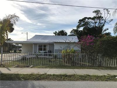 North Fort Myers Single Family Home For Sale: 1668 Tennessee Ave