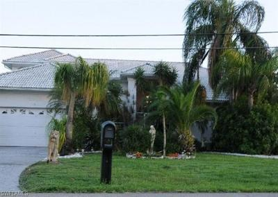 Cape Coral Single Family Home For Sale: 1508 SW 48th Ter