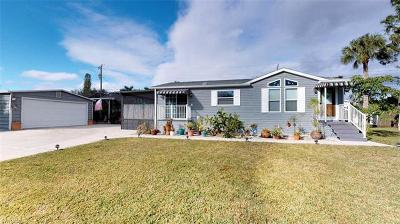 Fort Myers Mobile/Manufactured For Sale: 12170 Hibiscus Dr
