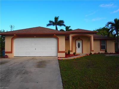 Cape Coral FL Single Family Home For Sale: $265,000