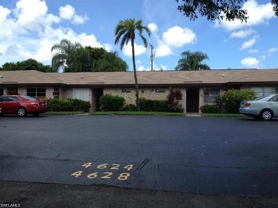 Cape Coral Condo/Townhouse For Sale: 4619 SE 5th Pl #7