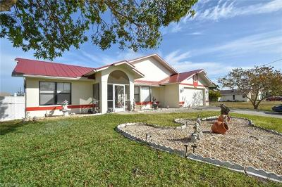 Cape Coral Single Family Home For Sale: 2123 NE 1st Ter