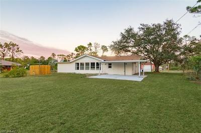 Lehigh Acres Single Family Home For Sale: 611 Grant Ave