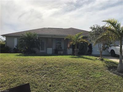Lehigh Acres Single Family Home For Sale: 3409 17th St SW