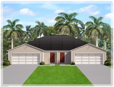 Lehigh Acres Condo/Townhouse For Sale: 18290 Minorea Ln