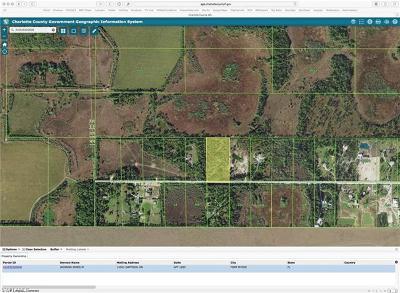 Punta Gorda Residential Lots & Land For Sale: 40330 Suzan Dr