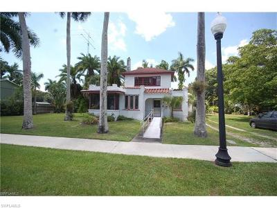 Fort Myers Single Family Home For Sale: 1325 Bradford Rd
