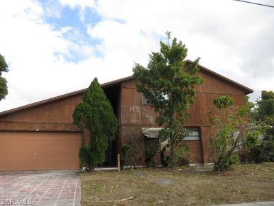 North Fort Myers Single Family Home For Sale: 4930 Orange Grove Blvd