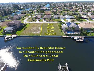 Cape Coral FL Residential Lots & Land For Sale: $169,900