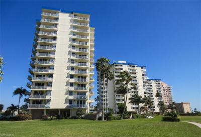 Fort Myers Beach Condo/Townhouse For Sale: 7360 Estero Blvd #808