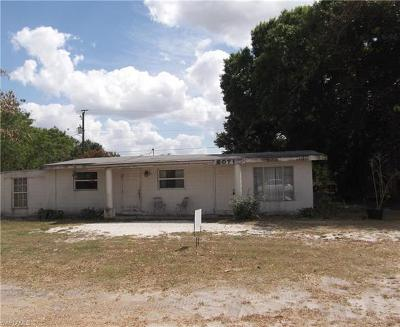 Fort Myers Single Family Home Pending With Contingencies: 5071 Lils Ln