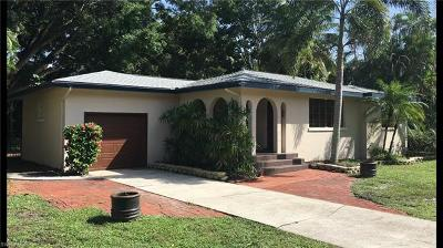 Single Family Home For Sale: 1628 Ardmore Rd