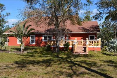 Alva, Labelle Single Family Home For Sale: 21311 Tuckahoe Rd