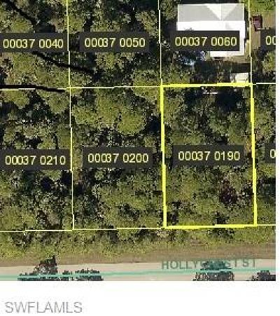 Fort Myers Residential Lots & Land For Sale: 3852 Hollycrest St