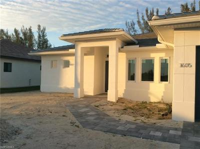 Cape Coral Single Family Home For Sale: 1605 SW 28th Ter