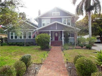 Fort Myers Single Family Home For Sale: 3272 McGregor Blvd