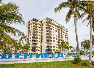Fort Myers Beach Condo/Townhouse For Sale: 18120 San Carlos Blvd #PH 1