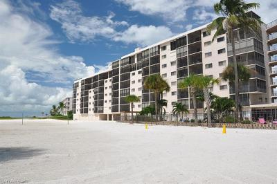 Fort Myers Beach Condo/Townhouse For Sale: 8350 Estero Blvd SW #124