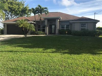 Cape Coral Single Family Home For Sale: 2519 SW 32nd Ln