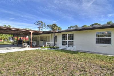 North Fort Myers Single Family Home For Sale: 41 Blair St