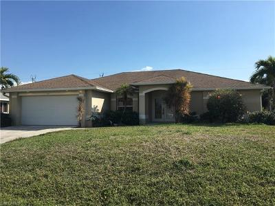 Cape Coral Single Family Home For Sale: 2018 SW 30th St