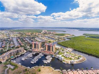 Cape Coral Condo/Townhouse For Sale: 5781 Cape Harbour Dr #509