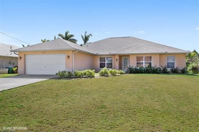 Cape Coral FL Single Family Home For Sale: $361,000