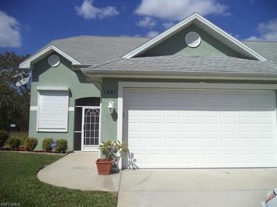 Cape Coral FL Single Family Home For Sale: $229,900
