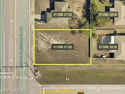 Cape Coral Residential Lots & Land For Sale: 407 Santa Barbara Blvd