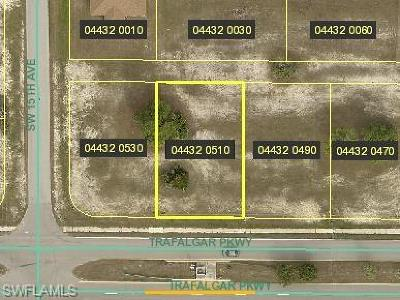 Cape Coral Residential Lots & Land For Sale: 1417 SW Trafalgar Pky
