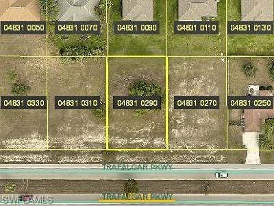 Cape Coral Residential Lots & Land For Sale: 1805 Trafalgar Pky