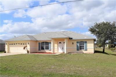 Fort Myers Single Family Home For Sale: 816 Unger Ave