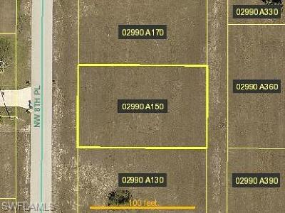 Cape Coral Residential Lots & Land For Sale: 2511 NW 8th Pl