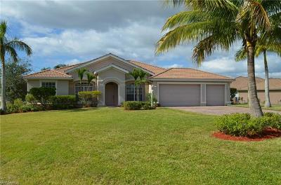 Cape Coral Single Family Home For Sale: 11671 Lady Anne Cir