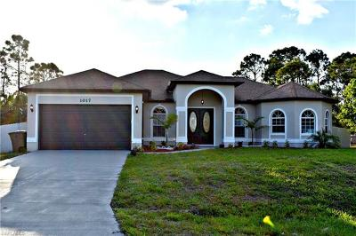 Lehigh Acres Single Family Home For Sale: 1017 Alido Ave