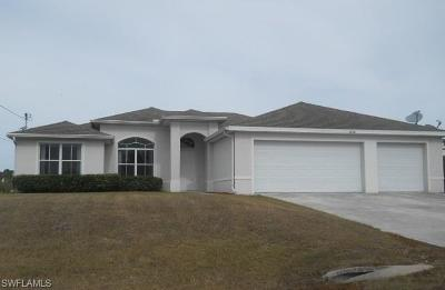 Lehigh Acres Single Family Home For Sale: 2808 39th St SW