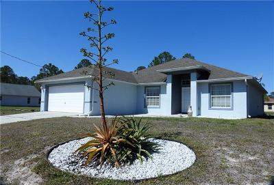 Lehigh Acres Single Family Home For Sale: 3406 51st St W