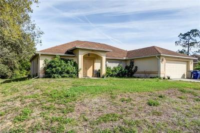 Lehigh Acres Single Family Home For Sale: 155 Duke Ave S
