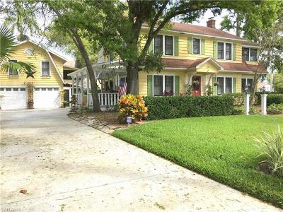 Fort Myers Single Family Home For Sale: 1431 Jefferson Ave