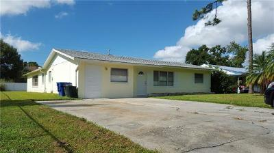 North Fort Myers Single Family Home For Sale: 1293 Old Bridge Rd