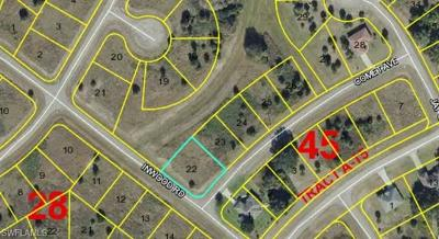 Glades County Residential Lots & Land For Sale: Comet Ave
