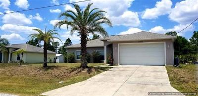 North Port Single Family Home For Sale: 2983 Point St