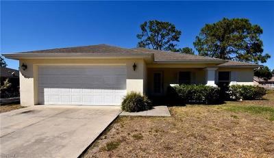 Lehigh Acres Single Family Home For Sale: 3912 4th St W