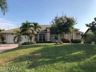 Cape Coral, Matlacha Single Family Home For Sale: 166 SE 16th Ter