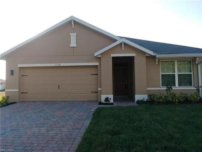 Cape Coral Single Family Home For Sale: 1110 NW 24th Pl