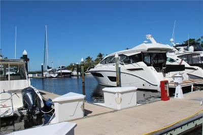 Fort Myers Boat Slip For Sale: 48 Ft. Boat Slip B-20 Gulf Harbour